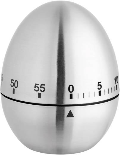 TFA Konyhai időzítő, tojás (Ø x Ma) 61 mm x 76 mm Króm