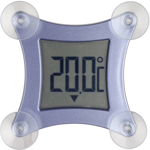 Ablakhőmérő, digitális, kék, TFA Poco