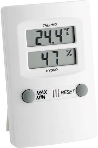 Digitális hő- és légnedvesség mérő, fehér, TFA