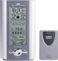 Vezeték nélküli időjárás állomás, rádiójel vezérelt órával, ezüst/szürke (KW 9005W-SM)
