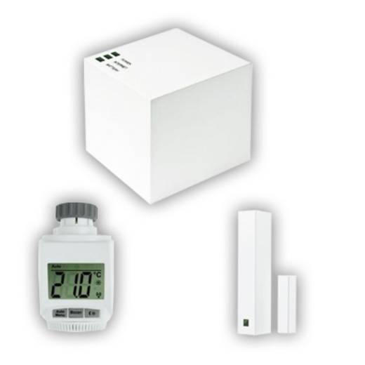 eQ-3 Max! Cube rendszer - központi egység, ablak érzékelő és radiátor termosztátfej
