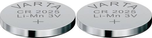 CR2025 lítium gombelem, 3 V, 170 mAh, 2 db, Varta BR2025, DL2025, ECR2025, KCR2025, KL2025, KECR2025, LM2025