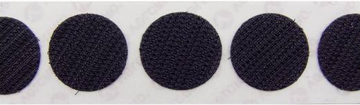 Tépőzár pontok Felragasztáshoz Horgos fél (Ø) 19 mm Fekete Velcro E28801933011425 1120 db