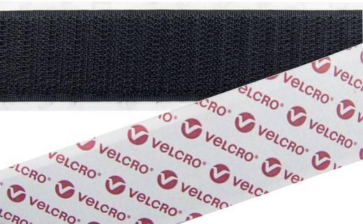 Tépőzár Felragasztáshoz Horgos fél (H x Sz) 25000 mm x 100 mm Fekete Velcro E08810033011425 25 m