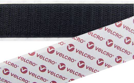 Tépőzár Felvarráshoz Horgos fél (H x Sz) 25000 mm x 20 mm Fekete Velcro E088020330F1825 25 m