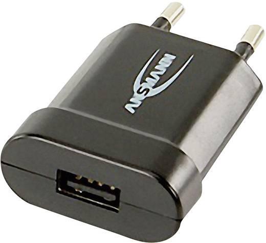 USB-s hálózati töltő, 1x USB, 1000 mA, Ansmann 1001-0007-510