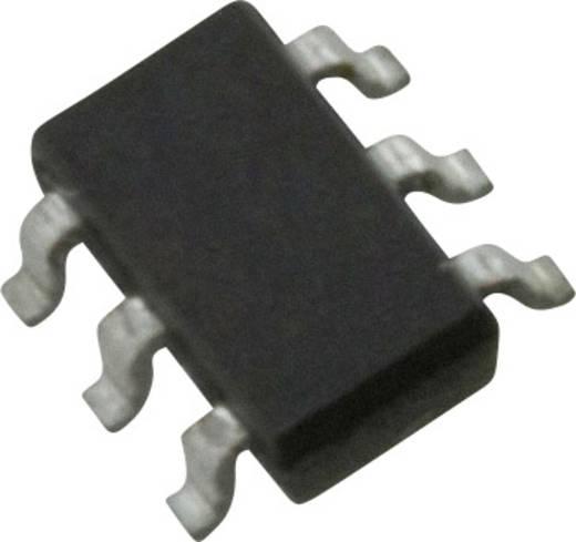 Logikai IC - inverter NXP Semiconductors 74LVC2G06GV,125 Inverter TSOP-6