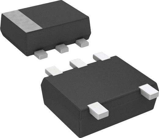 Kettős Zener dióda DZ5S062D0R Ház típus (félvezető) SOT-665 Panasonic Zener feszültség 6.2 V Max. teljesítmény 150 mW