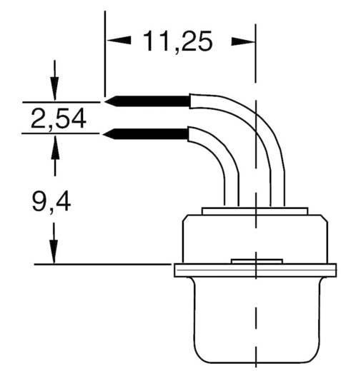 D-SUB tűs kapocsléc 90 ° pólusszám: 25 Forrasztható BKL Electronic 10120285 1 db