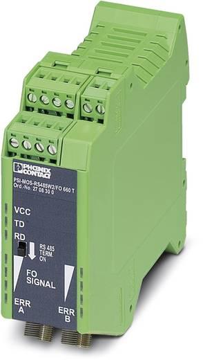 Optikai kábeles jelátalakító optikai diagnosztikával, Phoenix Contact PSI-MOS-RS485W2/FO 660 T
