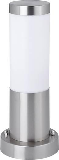 Kültéri álló lámpatest, E27, max. 40 W, 230 V, IP44, ezüst, rozsdamentes acél, Zigar 7870C8A