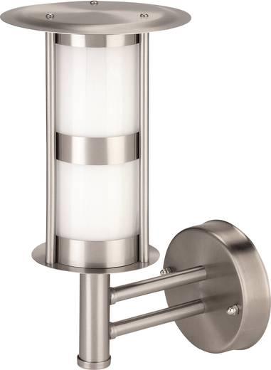 Kültéri fali lámpatest, E27, max. 40 W, 230 V, IP44, ezüst, rozsdamentes acél, Iveta 7870C2A