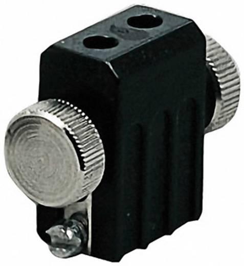 Világítástechnikai tartozék, lámpatartó, fekete, G4, 97841