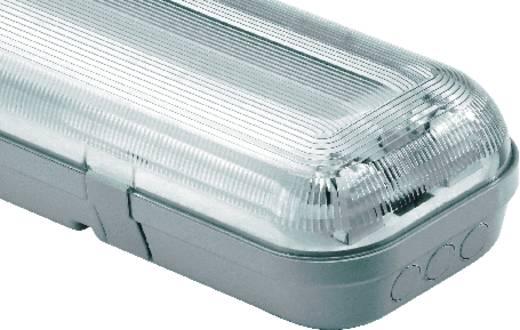 Vízhatlan lámpatest, G13, 2X58 W, 230 V, világosszürke, VVG