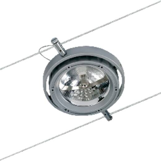 Halogén huzal felfüggesztésű lámpa fényforrással, G53, alumínium, Paulmann Powerline 7059