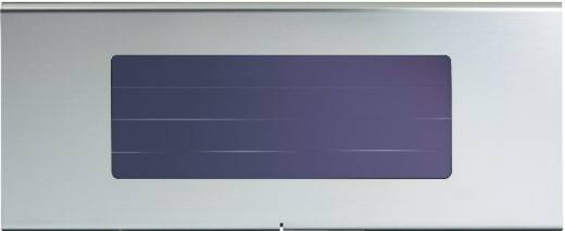 Napelemes LED-es tábla megvilágító, max. 25 óra, rozsdamentes acél, Esotec Profi 1 102250