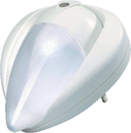 Automatikus LED-es éjszakai fény, fehér, NL-197-WH