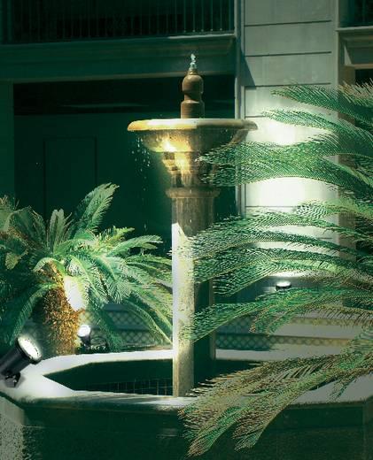Kültéri leszúrható LED-es kerti lámpatest, 4,25 W, 230 V, IP68, fekete