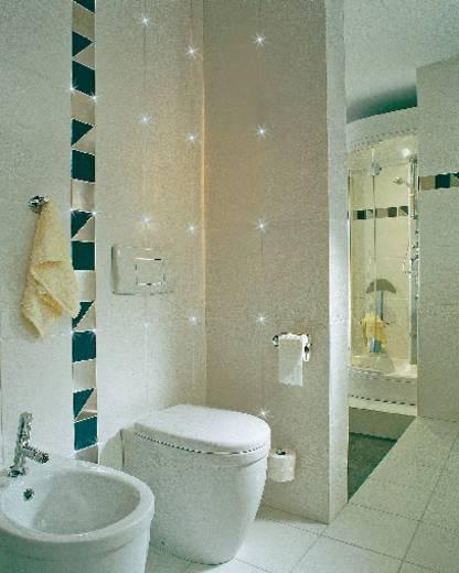 LED-es csempekereszt világítás szett, fehér, Paulmann 98768