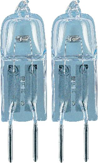 Nagyfeszültségű halogén izzó OSRAM 12 V G4 5 W, melegfehér, EEK: C, dimmelhető 2 db
