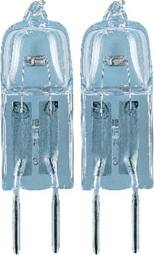 Nagyfeszültségű halogén izzó OSRAM 12 V GY6.35 50 W, melegfehér, EEK: C, dimmelhető 2 db