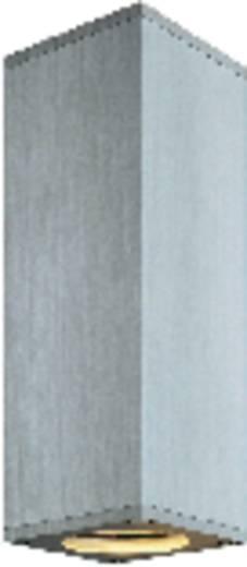 Fali lámpa, 225 mm x 70 mm x 70 mm, 230 V/50 Hz, GU10, max. 2x 50 W, alumínium, SLV Theo Wall 152089