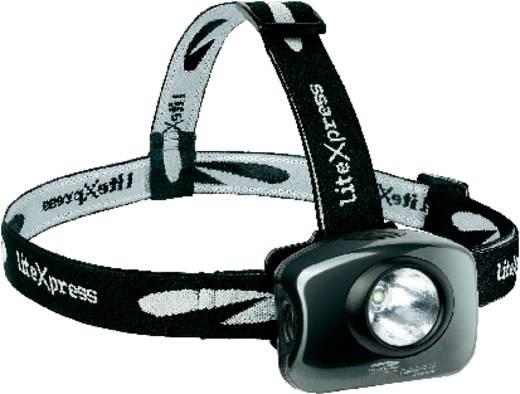 LED-es fejlámpa, Cree LED, 22 óra, fekete, LiteXpress Liberty 111-2 LX212076