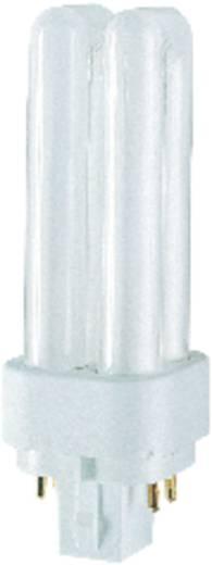 Kompakt fénycső, energiatakarékos fényforrás, 13 W, melegfehér, cső forma, Osram DULUX D/E PLUS G24-q-1 4 Pin