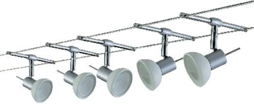 Komplett lámparendszer, halogén fényforrás, fehér, ezüst színű, GU5.3, Paulmann Wire System Sheela 975.32