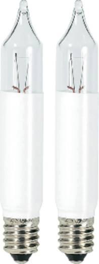 Karácsonyfa pótizzó, 2 db, 23V, 3W, E10, átlátszó, Konstsmide 1050-020