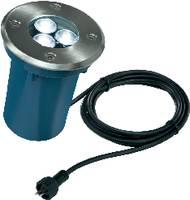 Besüllyeszthető LED-es lámpatest, 30°, 3 W (hidegfehér), 12V, IP65/67, ezüst/kék, Esotec 105230 Esotec