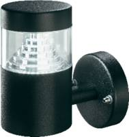 Kültéri, LED-es fali lámpatest, 3 W, 230 V, 80 x 140 x 136 mm, fekete, Esotec Milano 201120 Esotec