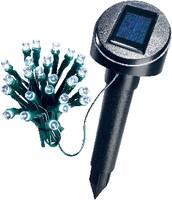 Napelemes kültéri LED-es fényfüzér, 24 LED, 5 m/7 m, fehér, Esotec 102154 Esotec