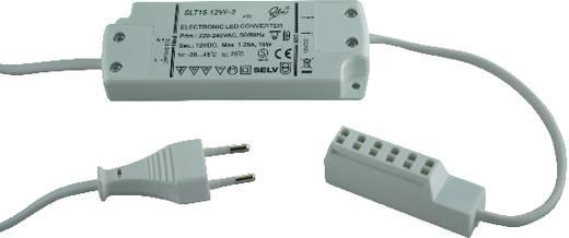 LED meghajtó, LED trafó, fehér, SLT15-12V