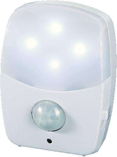 LED-es éjszakai fény mozgásérzékelővel, elemes, fehér