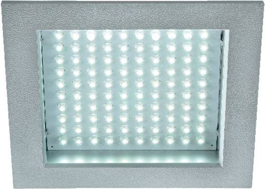 LED panel, fehér LED-ekkel, ezüst színű kerettel