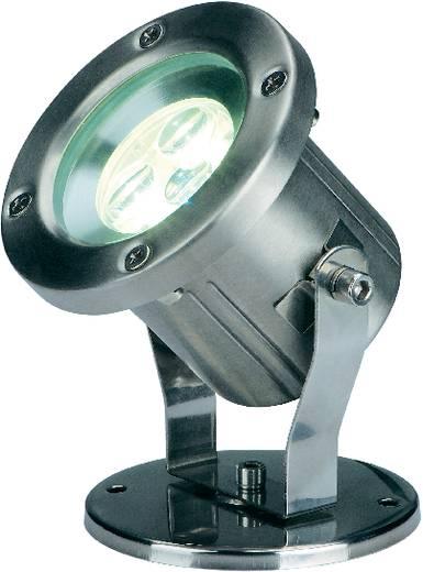 Kültéri LED-es fényszóró, 3x1 W (szuper melegfehér), 230 V, IP55, rozsdamentes acél, SLV Nautilus 304 B 230802