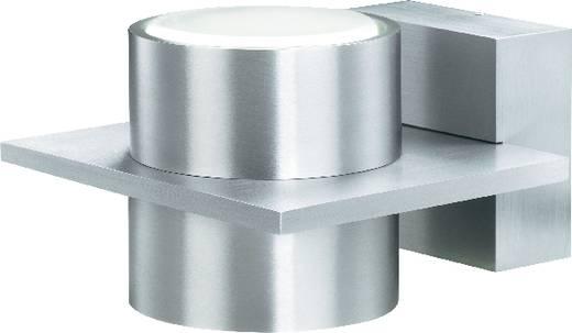Fali lámpa, 2 x 13 W, 34333C, 87 mm x 138 mm x 152 mm, 230 V/50 Hz, GX53, 2 x 13 W, ezüst-szürke, sygonix Trento