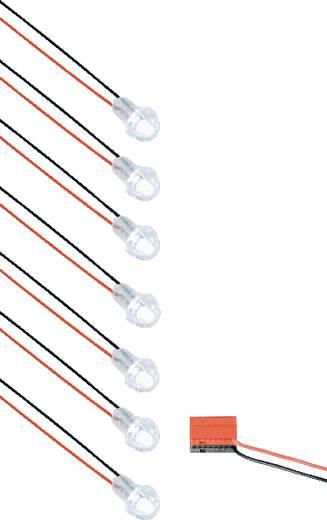 Kiegészítő készlet beltéri beépíthető LED-es csillagos ég készlethez, fehér, QLT A40K7SPOT1BB