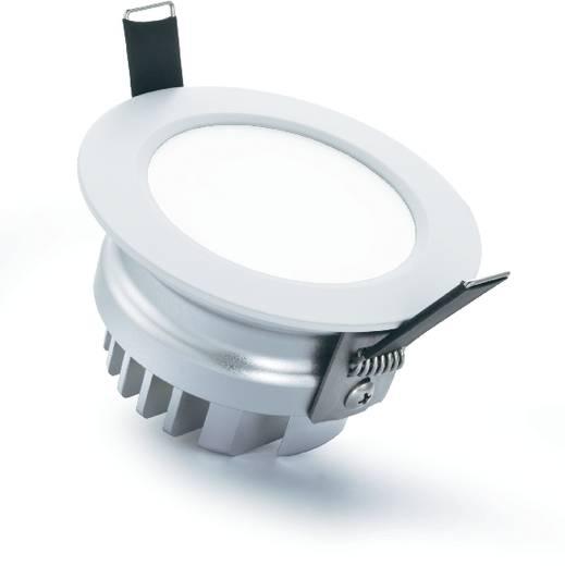 Downlight, beltéri beépíthető, 12 W, LED-es, ezüst-szürke, Sygonix Prato 34338D