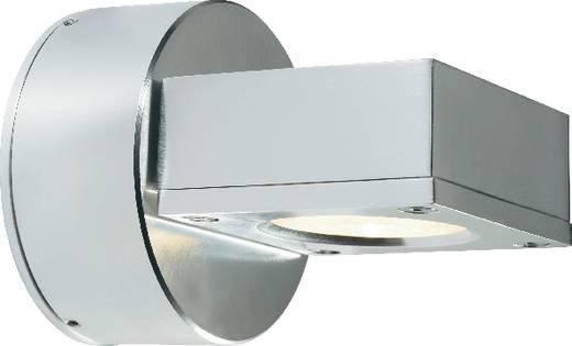 Kültéri, LED-es fali lámpatest, 3x1 W, 230 V, alu