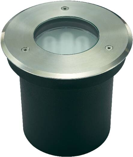 Padlóba süllyeszthető lámpatest, GX53, 11 W, 230 V, IP67, rozsdamentes acél