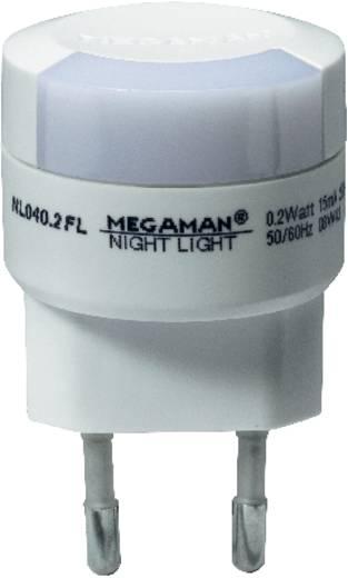 Konnektoros LED-es éjszakai fény, narancs, 0,2 W, Megaman MM00103