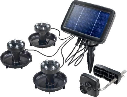 Napelemes spot LED Fixen beépített LED-es Renkforce Fekete