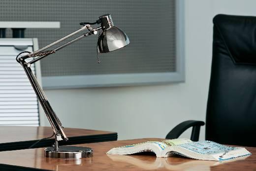 Álló és asztali lámpa, halogén- vagy energiatakarékos izzó, sötétszürke, GU10, 35 W
