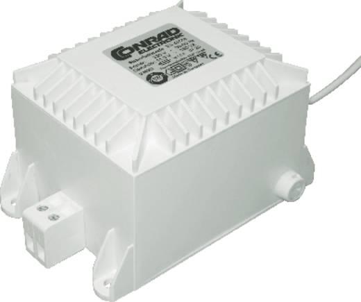 Halogén blokktranszformátor, halogén blokk trafó, 150 W, fehér