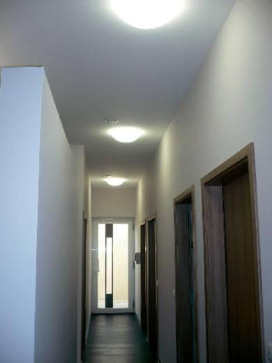 Mennyezeti lámpa, 373 mm x 125 mm, 230 V/50 Hz, E27, 2 x 60 W, fehér, Regiolux WBLR 25312600100