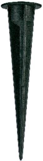 Műanyag földbe szúrható cövek, fekete, SLV Nautilus Spike 900011