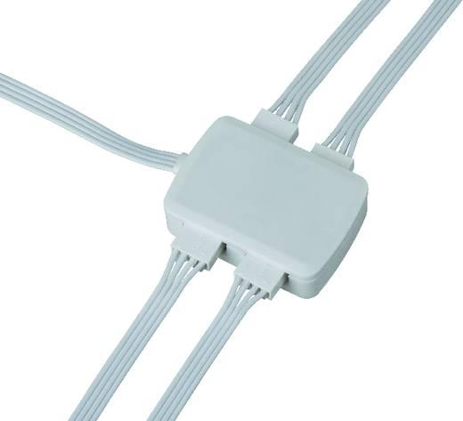 Elosztó LED szalaghoz, 4 részes, fehér, Paulmann YourLED Junctionbox 70203