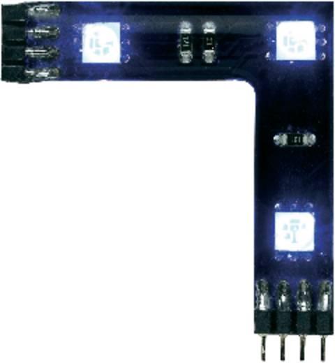 Sarok összekötő LED szalag, RGB LED-del, fekete, 3 db, Paulmann YourLED 90° 70207